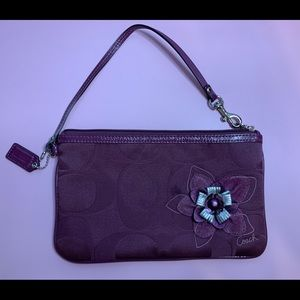 Coach Plum/Dark Purple Wrislet